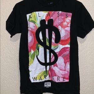 Neff floral money t-shirt
